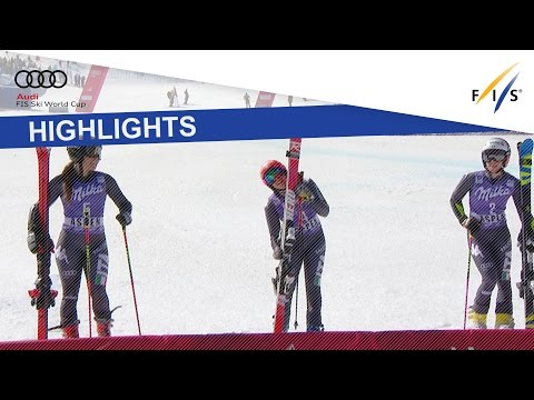 Highlights | Brignone leads Italian clean sweep at GS Aspen | FIS Alpine