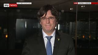 In full: Catalonia's ex-president Carles Puigdemont on the UK's exit from the EU