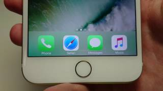 iOS 10 How to Create Bookmark iPhone 7