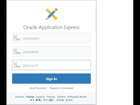 Oracle APEX 5 in ORDS with Apache Tomcat in Windows OS