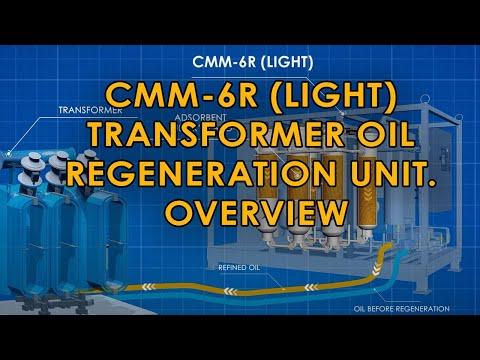 Transformer Oil Regeneration Machine CMM-6R (light)