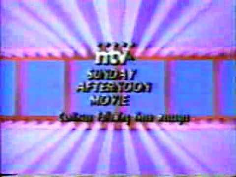 CJON (NTV) Sunday Afternoon Movie 1990 Bumper