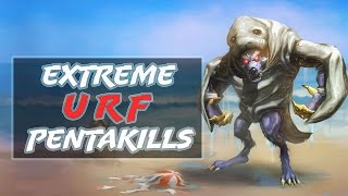 Extreme URF Pentakill Montage 2016 | League of Legends