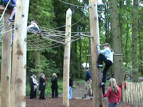 Coombe Abbey Park >> Climbing Forest - Coombe Country Park - YouTube