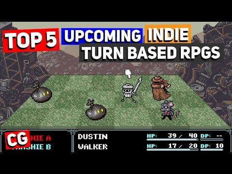Top 5 Best Upcoming Indie Turn Based RPGs Of 2018 & Beyond!