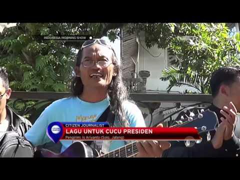 Lagu Untuk Jan Ethes, Cucu Presiden Joko Widodo