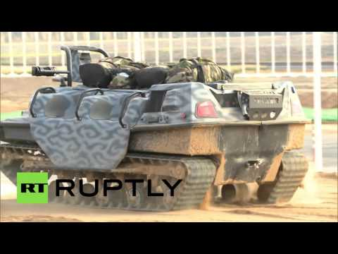 Real-life military robots & more: Russian Defense Ministry Innovation day