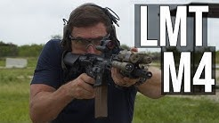 The LMT M4 (Ambidextrous, improved reliability M4)