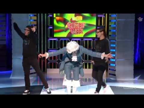ERB LIVE Mozart vs. Skrillex at Comedy Week (w/ subtitles) - Epic Rap Battle of History