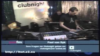Paul van Dyk @ YOU FM Clubnight 17-09-2005 #1