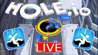 HOLE.io (VOODOO) Livestream