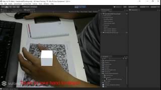 Bauen Augmented reality (AR) Hand-Tracking für Mobile Anwendungen mit Unity 3D [SMILEWAY.CO]
