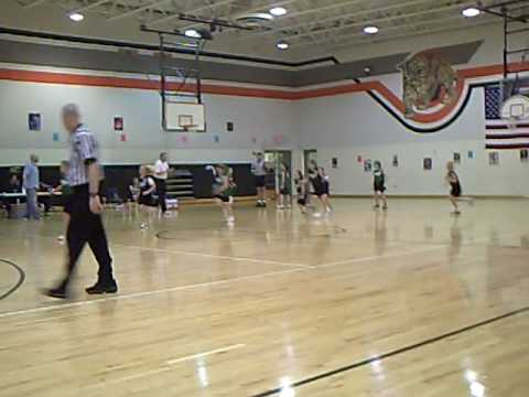 Zoe Scott Basketball 2-07-09 Aledo, Texas Gators