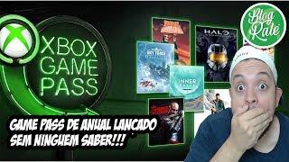 NA SURDINA MICROSOFT LANÇA XBOX GAME PASS DE ANUAl!!! VALE A PENA COMPRAR ?