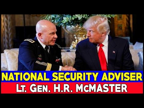 President Trump Announces His National Security Adviser -- Lt. Gen. H.R. McMaster