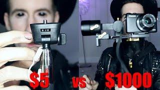$5 Selfie Stick VS. $1000 Selfie Stick produc...