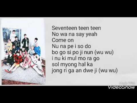 [EASY LYRICS] Seventeen - BOOMBOOM (붐붐)