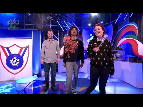 Barney Harwood Trips on Blue Peter HD   21st May 2015