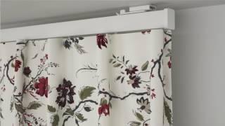 Cómo poner los rieles de cortinas VIDGA - IKEA