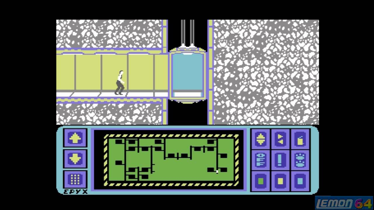 Impossible Mission (C64) - A Playguide and Review - by Lemon64 com