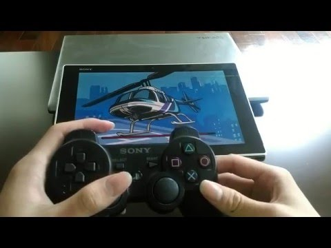 GTA Liberty City cheat code with PS controller on Sony Z tablet
