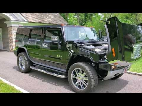 low-mileage-2008-hummer-h2-luxury-for-sale~navi~chrome-wheels~black-/-black~one-owner