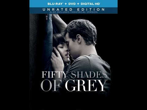 Fifty Shades of Grey  Bluray Unboxing