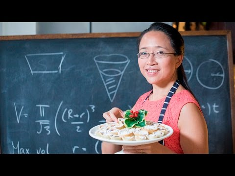 How To Make The Perfect Mince Pie With Maths // Powered by Samsung