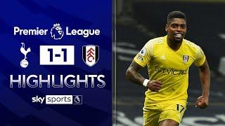 Cavaleiro header earns Fulham draw at Spurs! | Tottenham 1-1 Fulham | Premier League Highlights