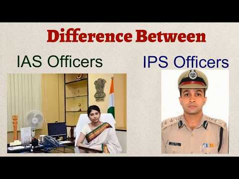 What Is The Difference Between IAS And IPS Officers | Salary | Rank | Job.
