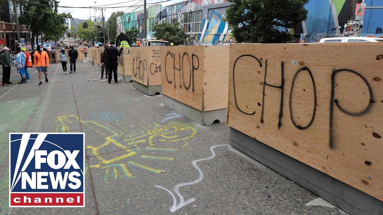 Shooting inside Seattle's 'CHOP' zone proves it's 'chaos': Police unio