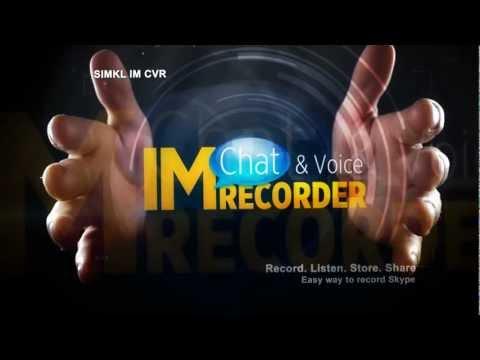 Record Skype: Simkl IM Chat & Voice Recorder - Free Skype Monitoring