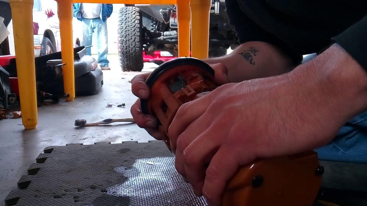 2003 Hyundai Accent Fuel Pump Rebuild Youtube Location