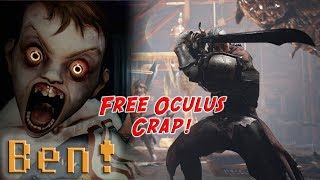 The Oculus Rift Free Games Discussion | Ben's OP Game Show Ep. 90 (Pt. 2)