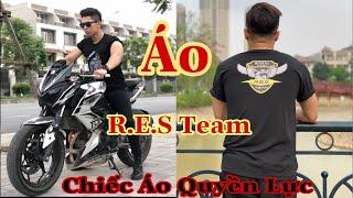 Bạn Nào Muốn Sở Hữu Chiếc Áo Này?  Chiếc Áo Quyền Lực R.E.S Team Moto PKL
