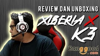 Xiberia K3 7.1 Surround Sound Gaming Headset | Review Dan Unboxing (Malay)