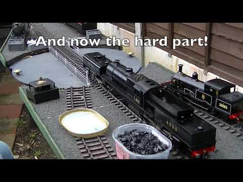 142 How to Coal Fire a Guage 1 LMS Garrett