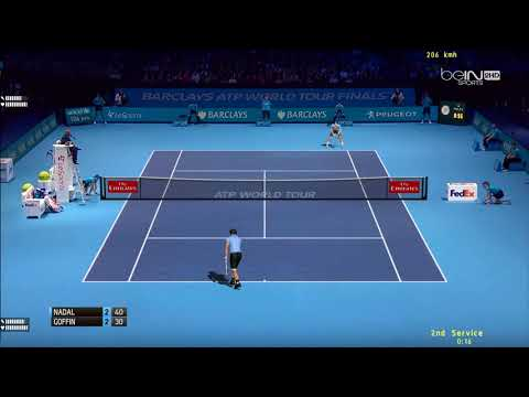 Tennis Elbow 2013 | ATP Worlds Tour Finals 2017 | Groupe Sampras | Nadal vs Goffin