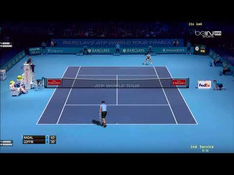 Tennis Elbow 2013 | ATP Worlds Tour Finals 2017 | Groupe Sampras | Nadal vs Goffin