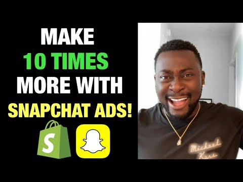 Snapchat Ads VS Facebook Ads for Shopify Dropshipping 2019 (Step by Step Tutorial) thumbnail