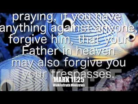 Relaxing music bible verses f forgiveness with beautiful for Bible verses about fish