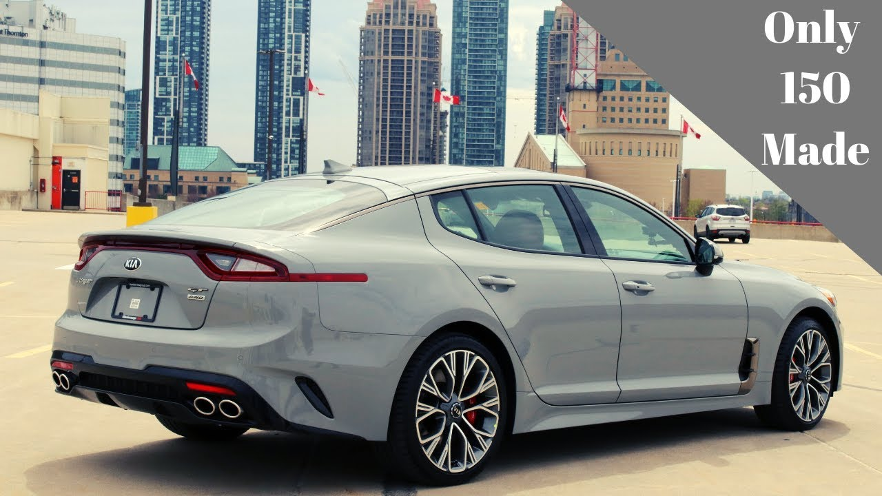 2020 kia stinger gt limited 20th anniversary | whats