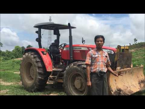 Massey Ferguson Global Series in Myanmar