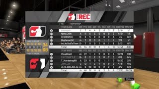 NBA 2K20  6'11 2 Way Playmaker Center build in action