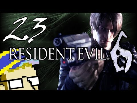 Resident Evil 6 - Interactive Cutscenes - DINING CAR - PART 23