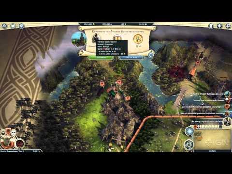 18 Minutes Of Age Of Wonders III Gameplay