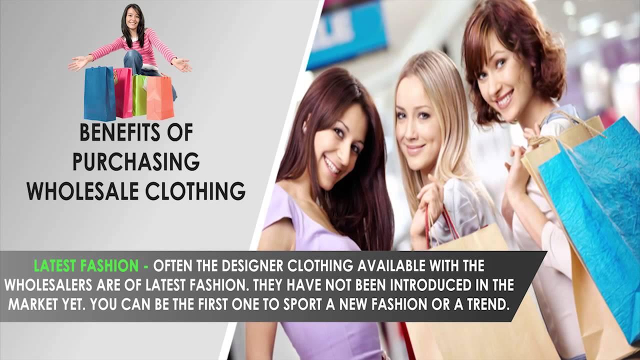 Purchasing Wholesale Clothing