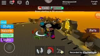 ROBLOX เกม Weight Lifting Simulator 3 จัมรองออกกำลังกาย