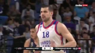 #BSL #Final 5. Maç: Anadolu Efes - Fenerbahçe Beko