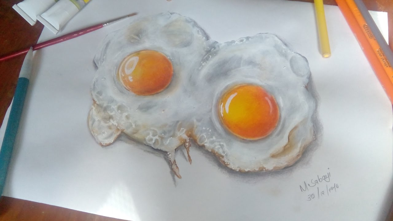 How To Make Egg Yolk Paint